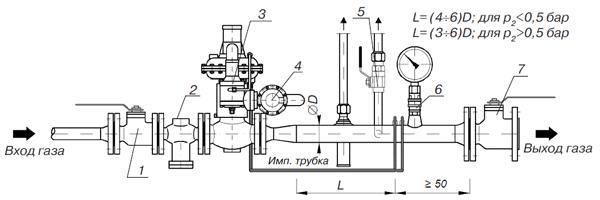 Регулятор давления без и с предохранительно-запорным клапаном 139, 139-BV