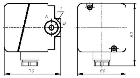 Датчики-реле давления типа ДРД