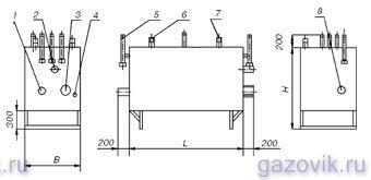 Газорегуляторные установки ГРУ-13-2НВ-ПУ1, ГРУ-15-2НВ-ПУ1, ГРУ-16-2НВ-ПУ1