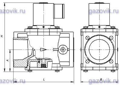 Клапан ВН-3Н-3К с регулятором