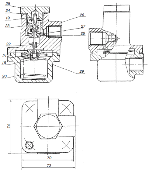 Устройство стабилизатора РДБК1-200