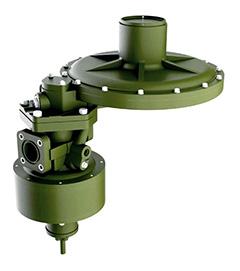 Регулятор давления газа комбинированный РДК-800
